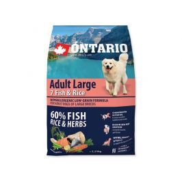 ONTARIO dog ADULT LARGE fish - 2,25kg