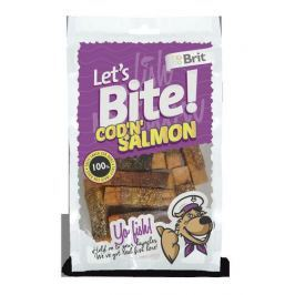 BRIT let's dog COD'N'SALMON - 80g