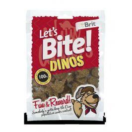 BRIT let's dog DINOS - 150g