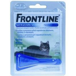 Antiparazitní spot-on FRONTLINE pro kočky - CAT