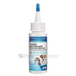 FRANCODEX ROZTOK čistící na uši štěně, kotě - 60ml