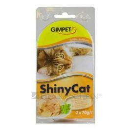 GIMPET SHINYcat TUŇÁK/kuře - 2x70g