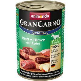 Animonda dog konzerva Gran Carno hovězí/jelen/jablko - 400g