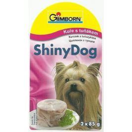 GIMBORN SHINYdog TUŇÁK/kuře 2x85g