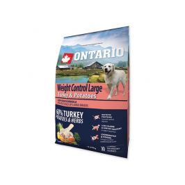 ONTARIO dog WEIGHT CONTROL LARGE turkey - 2.25kg