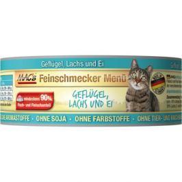 MACs cat konz. feinschmecker GEFLUGEL/LACHS - 6x100g