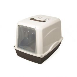 WC ARGI kryté, filtr - 54 x 39 x 39 cm šedé