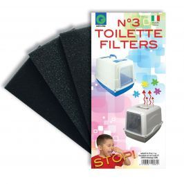 WC ARGI náhradní filtry - 3 ks