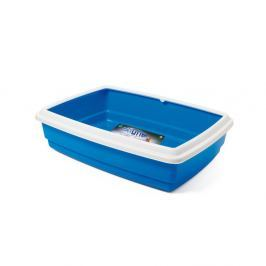 WC ARGI s okrajem modré - 54 x 40 x 14 cm
