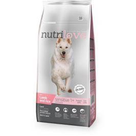 NUTRILOVE pes SENSITIVE jehněčí - 3kg