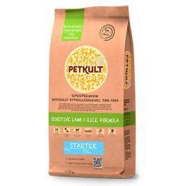 PETKULT dog STARTER lamb/rice - 2x12kg