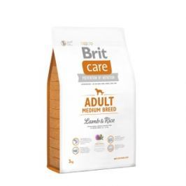 Brit Care dog Adult Medium Breed Lamb & Rice - 2x12kg