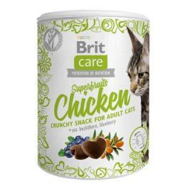 BRIT CARE cat SNACK SUPERFRUITS CHICKEN - 100g