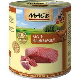 MACs cat konz. RIND/HUHNERHERZEN - 200g