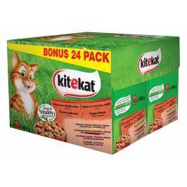 KITEKAT kapsa MIX 24ks - 4 druhy masa
