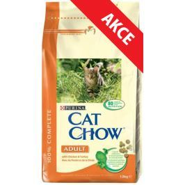 PURINA cat chow ADULT kuře - 1,5kg