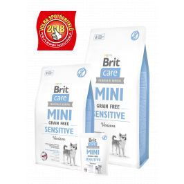 BRIT CARE dog MINI GF SENSITIVE - 400g
