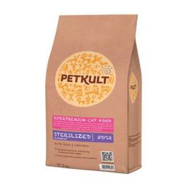 PETKULT cat STERILIZED - 2KG