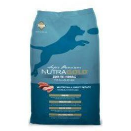 NUTRAGOLD GF WHITEFISH/sweet/potato - 13,6kg Krmivo pro psy