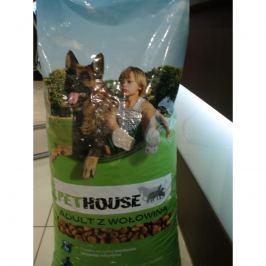 PETHOUSE dog HOVĚZÍ - 15kg Granule pro psy