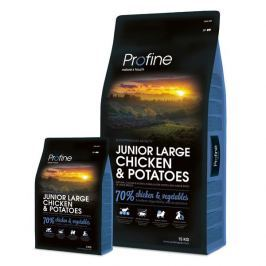 PROFINE JUNIOR LARGE Chicken - 15kg + 3kg GRATIS