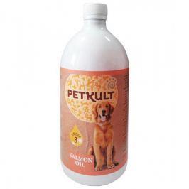 PETKULT LOSOSOVÝ olej - 300ml s pumpičkou Vitamíny a doplňky stravy pro psy