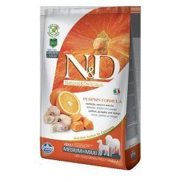 N&D dog GF PUMPKIN ADULT M / L CODFISH - 12kg Krmivo pro psy