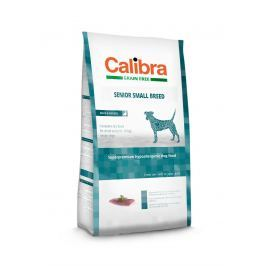 CALIBRA dog GF SENIOR small kachna - 7 kg Krmivo pro psy