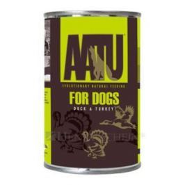AATU dog konz. DUCK / TURKEY - 400g Psi