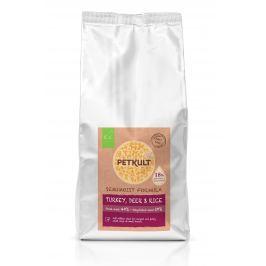 PETKULT dog SEMIMOIST / MINI ADULT turkey - 1,5kg Krmivo pro psy