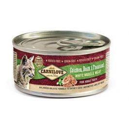 CARNILOVE cat konz. ADULT CHICKEN/duck - 100g