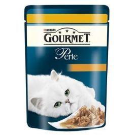 GOURMET PERLE cat 85g kapsa KUŘECÍ Krmivo a vitamíny pro kočky