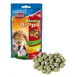 Trixie drops hlodavec ZELENINA 75g Krmivo a vitamíny pro hlodavce