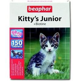 Beaphar KITTYS JUNIOR biotin 150tbl