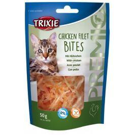 Trixie cat pochoutka Premio Light kuřecí filetky 50 g Krmivo a vitamíny pro kočky