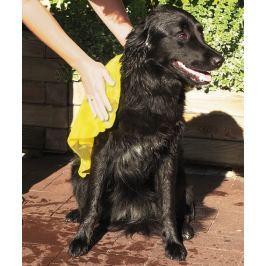 Trixie dog TOP-FIX žlutý supersavý ručník 50x60cm