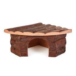 Trixie hlodavci DŮM dřevěný JESPER křeček 22x10x15cm Ostatní potřeby pro hlodavce