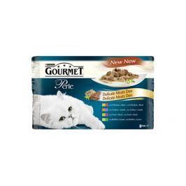 GOURMET PERLE 85g kapsa GiG 4ks Masové Duo Multi