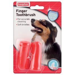 Beaphar dog ZUBNÍ kartáček na prst Vitamíny a doplňky stravy pro psy
