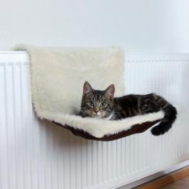 Odpočívadlo závěs. LŮŽKO béžovo/hnědé Pelíšky pro kočky