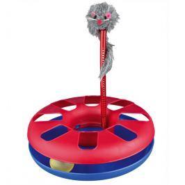 HRAČKA bláznivý KRUH s myší 24x29cm Hračky pro kočky