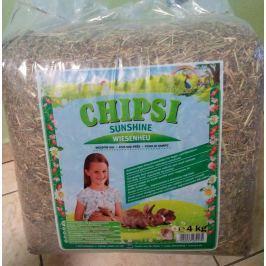 Podestýlka CHIPSI SUNSHINE 4kg Ostatní potřeby pro hlodavce