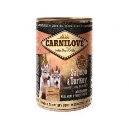 CARNILOVE konz. PUPPY SALMON/turkey 400g