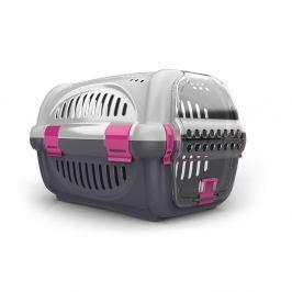 Transportní box ARGI růžový - 51 x 34,5 x 33 cm