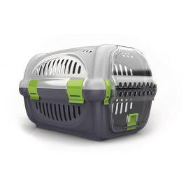 Transportní box ARGI zelený - 51 x 34,5 x 33 cm Pelíšky a boudy pro psy