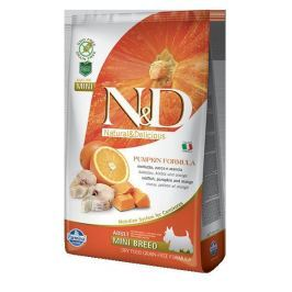 N&D dog GF PUMPKIN ADULT MINI CODFISH - 800g