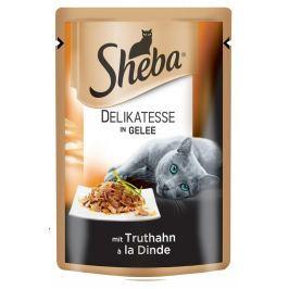 SHEBA DELIKATESSE 85g - Kuřecí Krmivo a vitamíny pro kočky