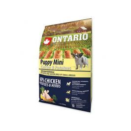 ONTARIO dog PUPPY MINI chicken - 2,25kg
