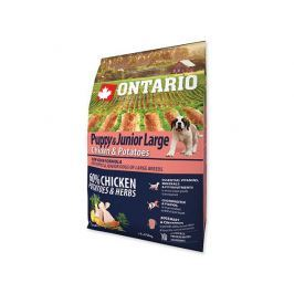 ONTARIO dog JUNIOR LARGE chicken - 2.25kg