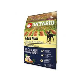 ONTARIO dog ADULT MINI chicken - 2.25kg